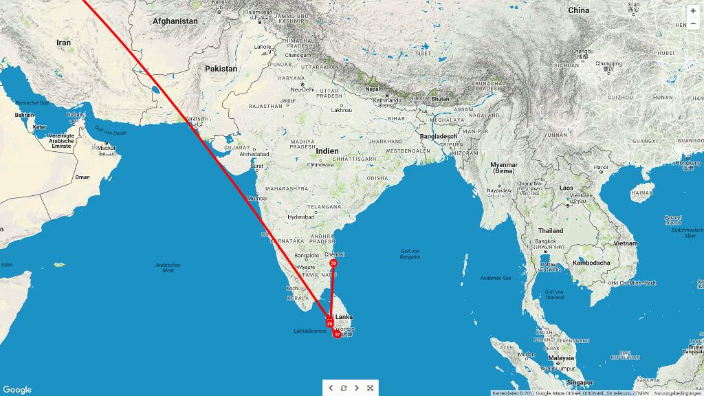 Ab nach Indien