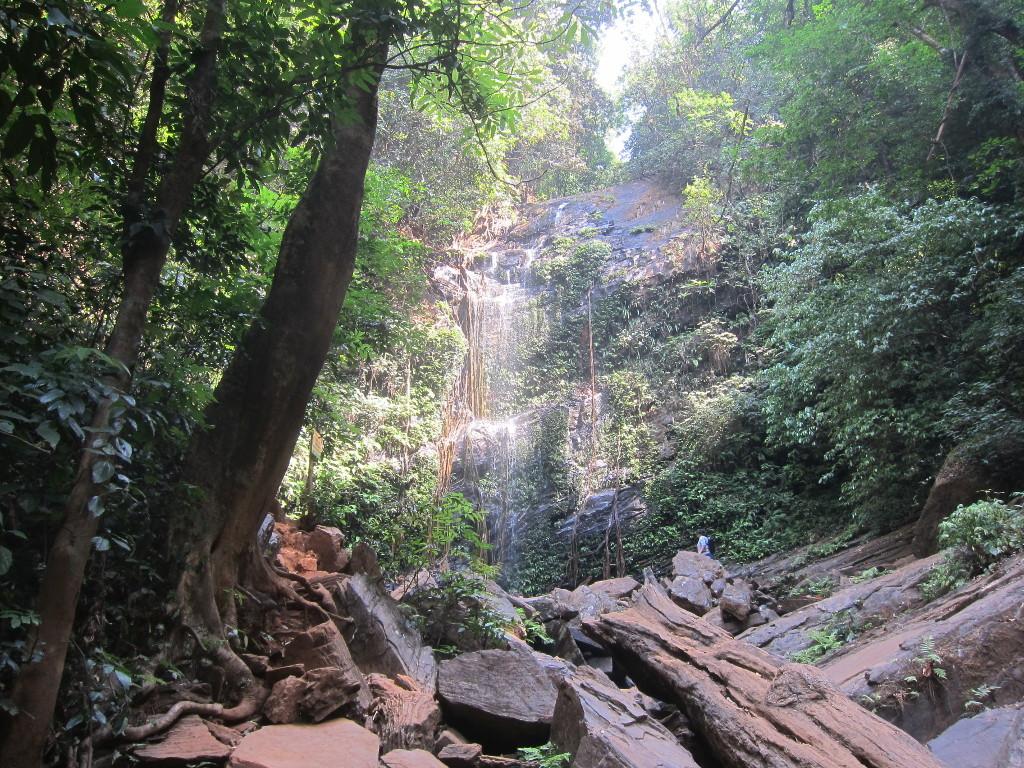Wasserfälle und Hängebrücken