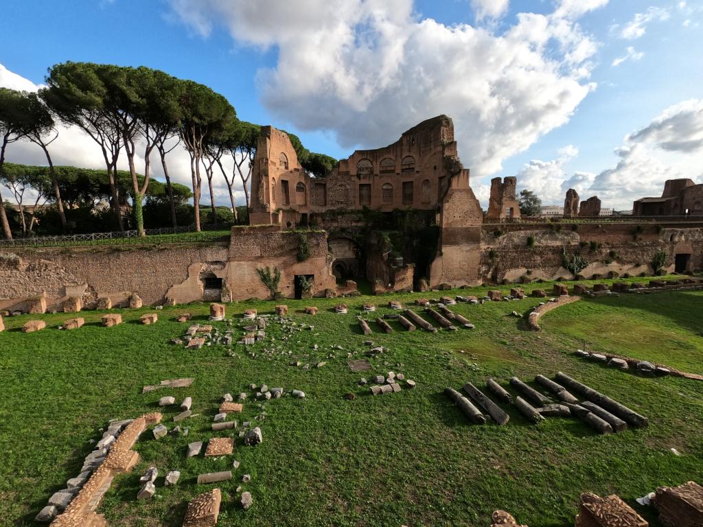 Von Arezzo nach Rom